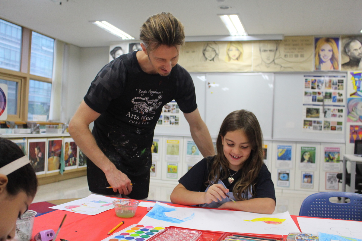 PYP Students Enter Artist Olympiad
